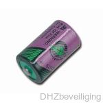 1/2 AA 3,6V Lithium batterij