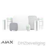 AJAX alarm HUB kit de luxe wit