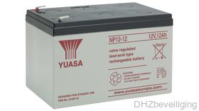 Yuasa NP12-12 gesloten loodaccu 12 V / 12 Ah