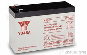 Yuasa NP7-12 accu alarmsysteem