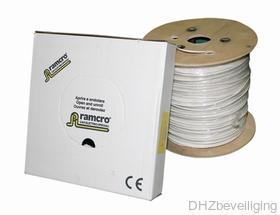 Alarm kabel 6 x 0.22 + 2 x 0,5