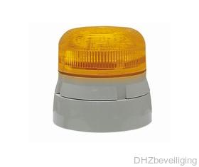 Klaxon flitslamp alarmsysteem