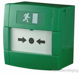 Handmelder groen MCP4A
