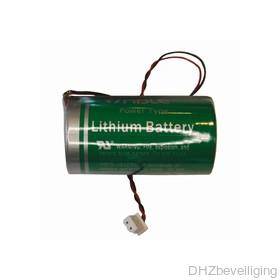 Batterij D-cel NiMH 3,6 V voor Visonic sirenes