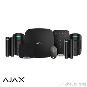 AJAX HUB kit de LUXE zwart